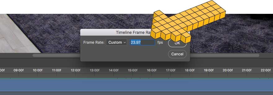 How-to-change-timelapse-framerate-in-Photoshop